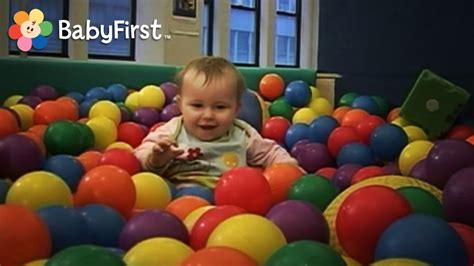 Indoor Playground Fun   Ball Pool at the Gymboree   Play ...