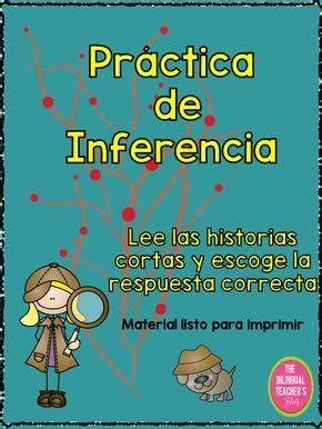 INFERENCE ACTIVITY IN SPANISH | Inference activities ...