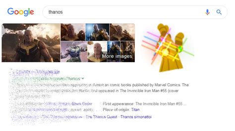 Infinity Whoa: Watch Thanos wipe out half your Google ...