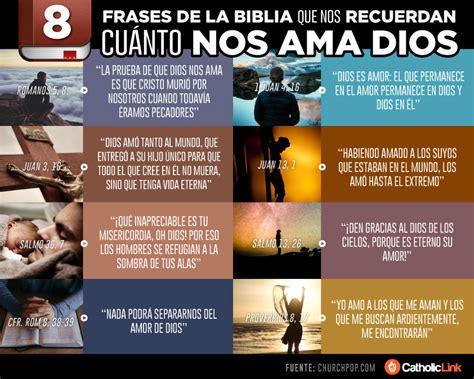 Infografía: 8 citas bíblicas del amor de Dios | Catholic Link