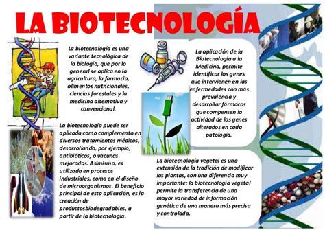 Infografia sobre la biotecnologia