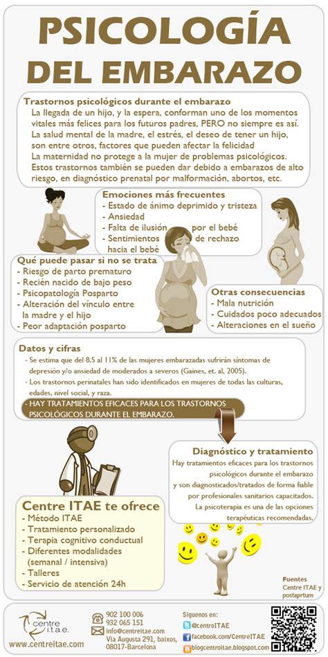 Infografía sobre la psicología del embarazo | Trastornos ...
