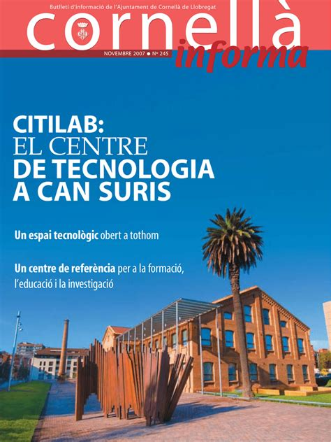 informa   Ajuntament de Cornellà