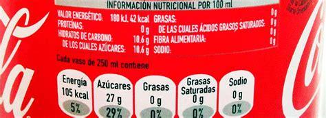 Información Nutricional de los Alimentos Envasados   Guía