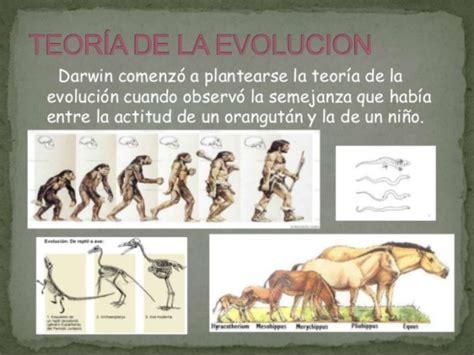Información sobre la Teoría de la Evolución de Darwin ...