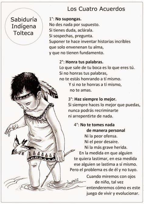 Informática y Docencia: Los 4 Acuerdos de la Sabiduría Tolteca