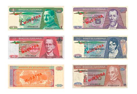 Information of Guatemala currency | Globo Cambio ...