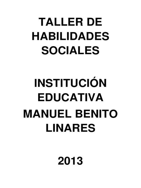 Informe Completo Taller de Habilidades Sociales ...
