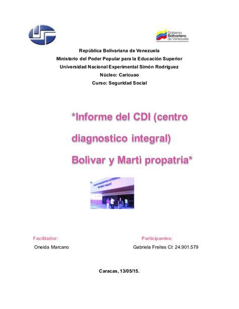 Informe de seguridad social cdi