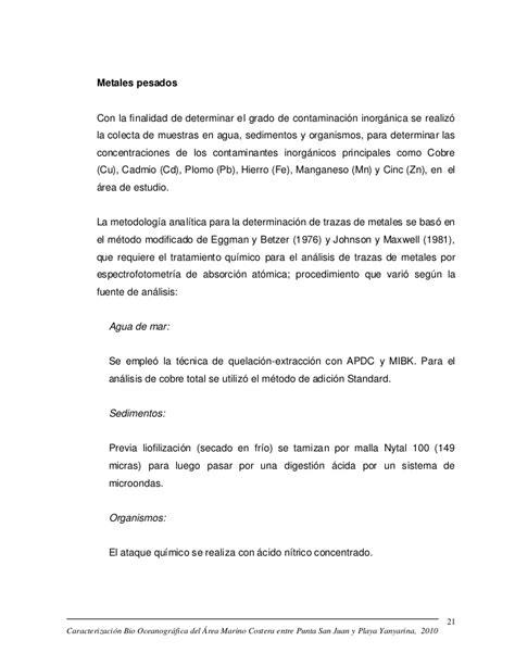 Informe imarpe 2010
