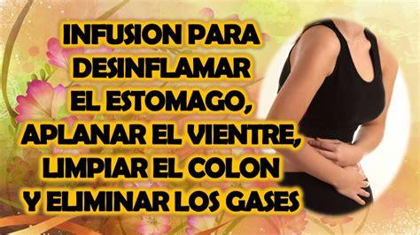 INFUSION PARA DESINFLAMAR EL ESTOMAGO, APLANAR EL VIENTRE ...