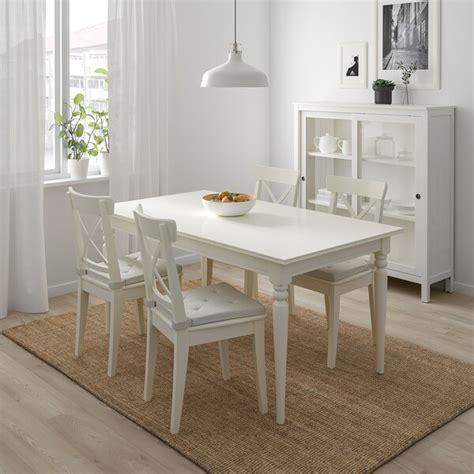 INGATORP / INGOLF Mesa e 4 cadeiras   branco   IKEA