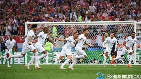 Inglaterra sorprende a Croacia con un gran gol de tiro ...