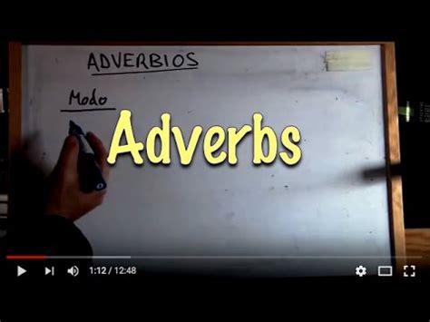 INGLÉS. 52  Adverbios. Inglés para hablantes de español ...