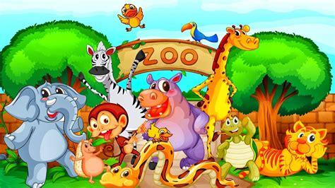 Ingles para niños   Animales del Zoológico   Video ...