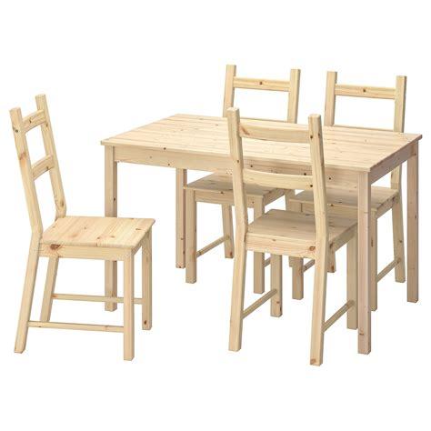 INGO / IVAR Mesa con 4 sillas, pino   IKEA