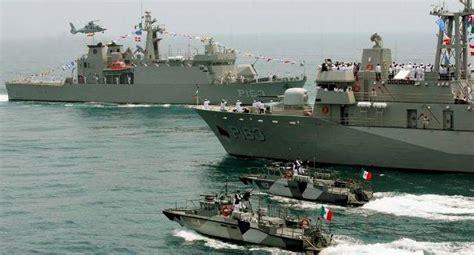 Inicia la Armada de México su participación en el ...