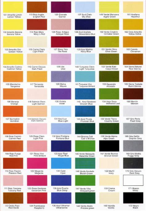 Inicio : Carta Colores Pintura — Bogotaeslacumbre