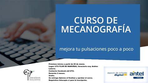 INICIO CURSO DE MECANOGRAFÍA   Red USI