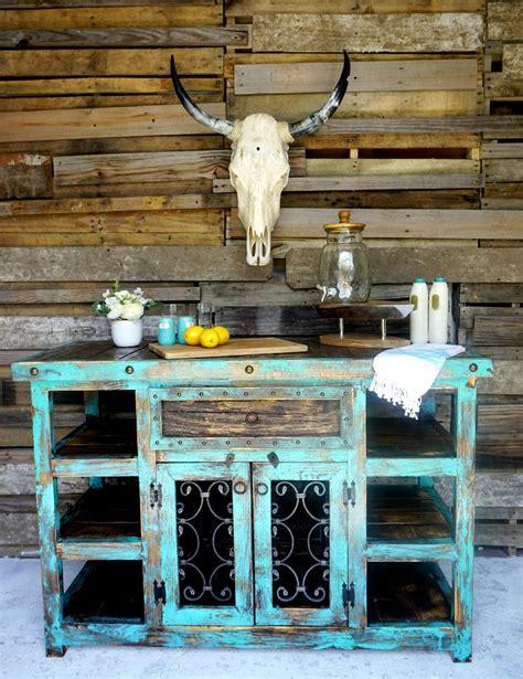 Inigo Rustic Island   Sofia s Rustic Furniture | Rustic ...