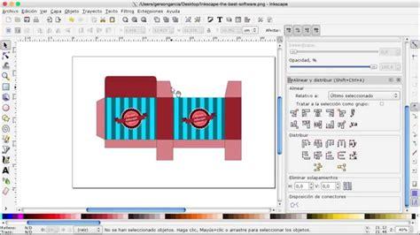 INKSCAPE 21   Como hacer una plantilla para caja ...