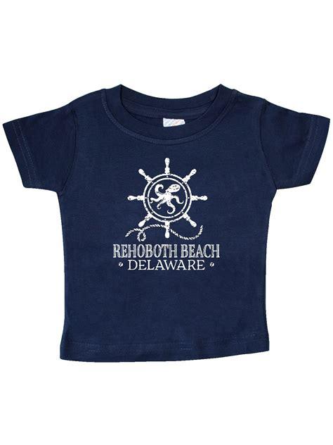 INKtastic   Rehoboth Beach Delaware Nautical Baby T Shirt ...
