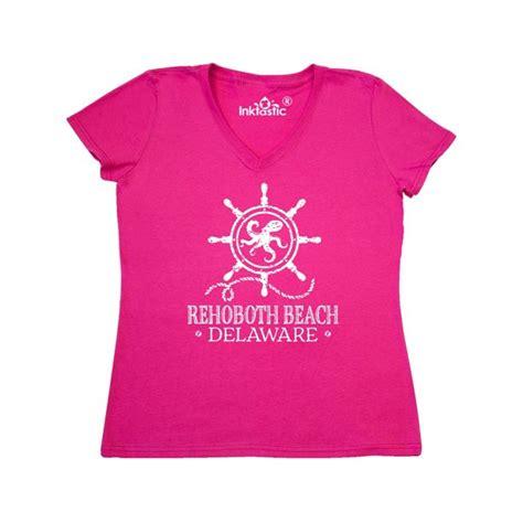 INKtastic   Rehoboth Beach Delaware Nautical Women s V ...