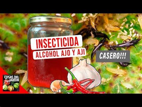 INSECTICIDA ALCOHOLICO DE AJO Y CHILES   DURA 6 MESES ...