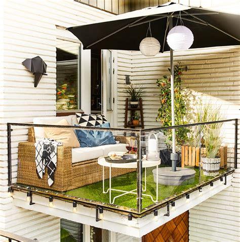 Inspiración para decorar tu terraza o balcón con Ikea