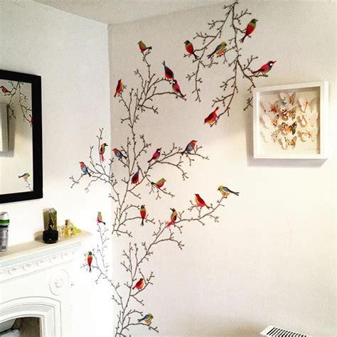 Inspiración vinilo ramas con pájaros Ikea
