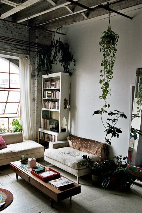 Inspiration: Decorating with Indoor Plants • Checks and Spots