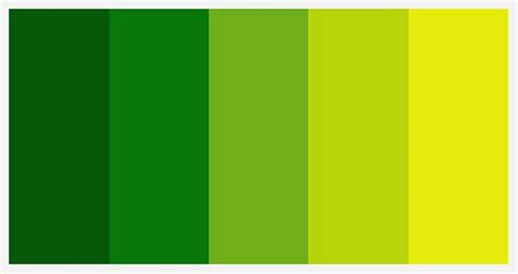 Inspirational Palettes: Spectrums of Green   Etsy Journal
