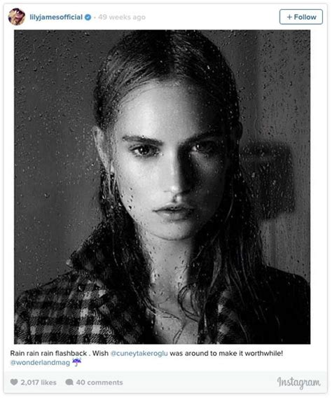 Instagram Girl of the Week: Lily James   Maxim