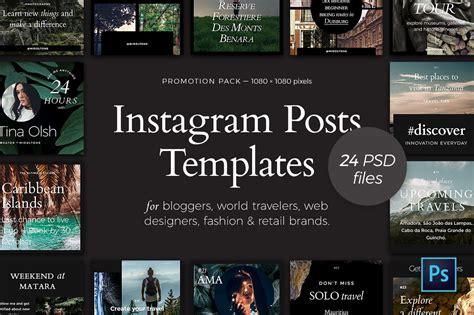 Instagram Posts — Promotion Pack ~ Instagram Templates ...