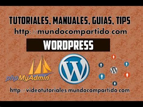 Instalacion de Sistema Wordpress en APPServ   localhost ...