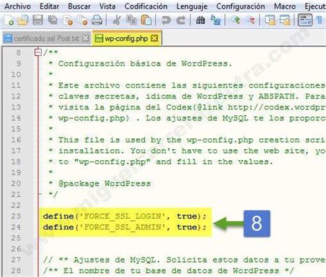 Instalación de un certificado SSL Gratis para siempre en ...