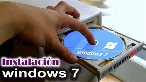 Instalación de windows 7 Ultimate   YouTube