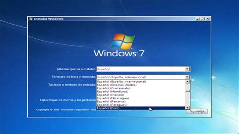 Instalación de windows 7 Ultimate   YouTube