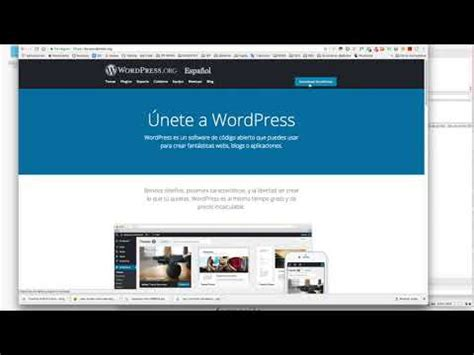 Instalación de WordPress a través de Filezilla   YouTube
