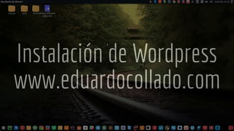 Instalación de Wordpress básica   YouTube