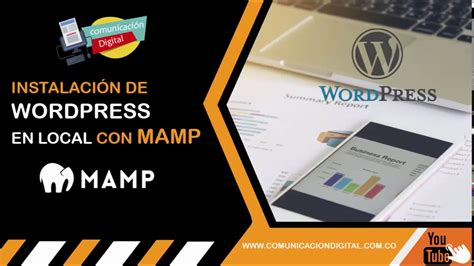 Instalación de Wordpress en local con Mamp   YouTube