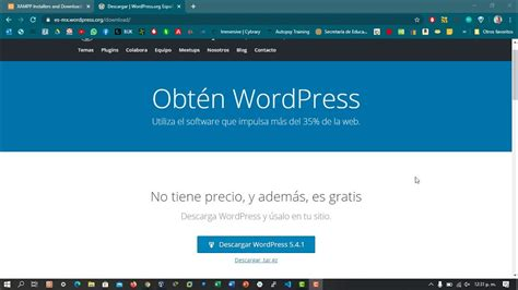 Instalación de Wordpress en Xampp   YouTube