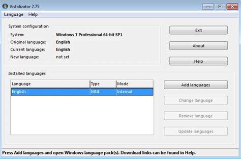 Instalando paquete de idioma en Windows 7 todas las ...