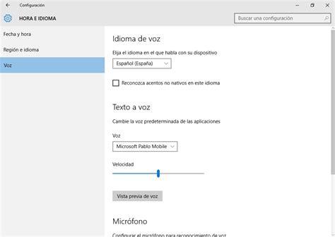 Instalar idiomas adicionales en Windows 10