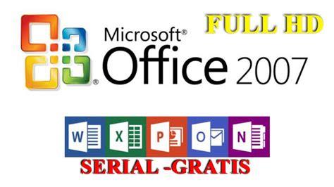 INSTALAR OFFICE 2007 FULL, GRATIS + SERIE DE POR VIDA ...