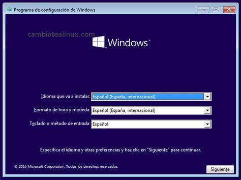 Instalar windows 10 en virtualbox   Cambiate a Linux