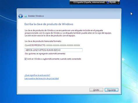 Instalar Windows 7 desde USB o con su CD