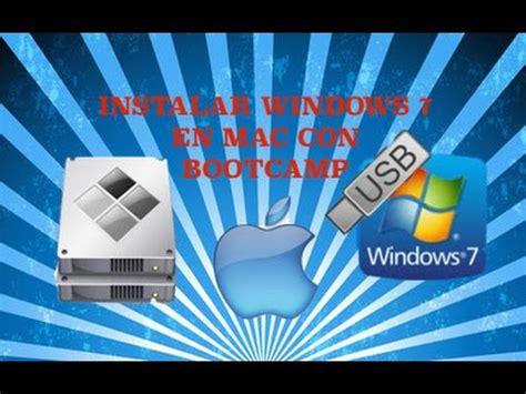 INSTALAR WINDOWS 7 EN MAC DESDE UNA USB 2017   YouTube