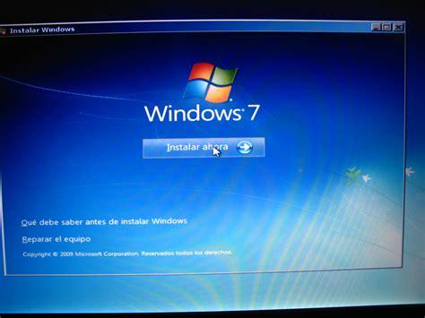 Instalar windows 7 sin cd ni usb   E books y Tutoriales ...