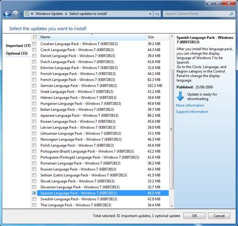 Install spanish language pack windows 7 professional ...